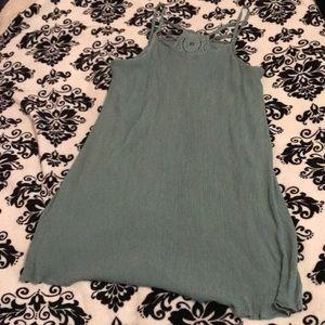 Turquoises Francesca's dress